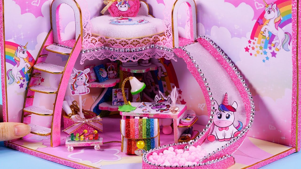 Diy Miniature House 10 Minute Diy Miniature Crafts 85 Youtube