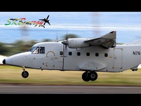 Rare Catch !!! Safe Air - Casa 212-400 @ St Kitts Robert L. Bradshaw Int'l Airport