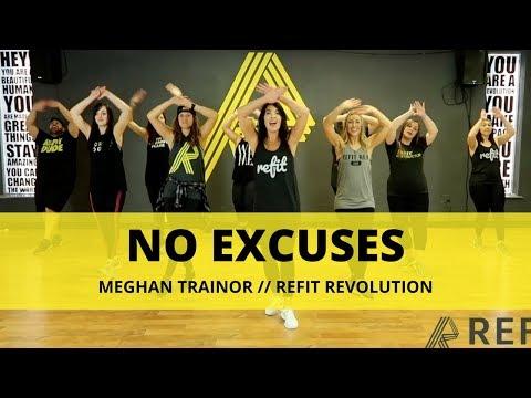 """No Excuses"" || Meghan Trainor || Fitness Choreography || REFIT®️ Revolution"