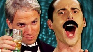Repeat youtube video Frank Sinatra vs Freddie Mercury - Epic Rap Battles of History Season 2