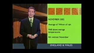 Repeat youtube video BBC Weather 1st December 2002