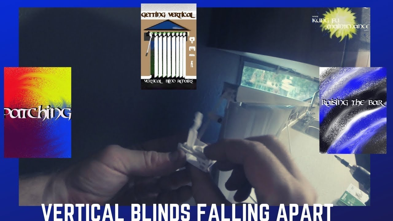 Vertical Blind End Cap Came Off Headrail Fell Down Blinds Falling