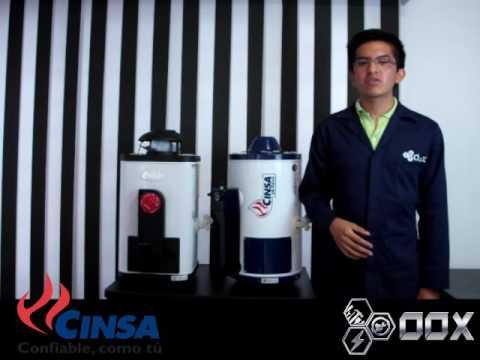 Calentadores Calorex & Cinsa
