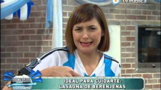 Lasagna De Berenjenas Saludable