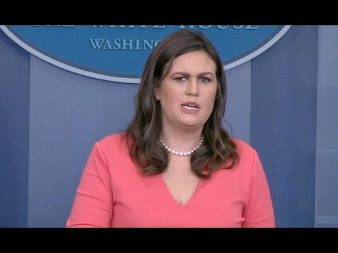 Sarah Huckabee Sanders Nov 2, 2017 White House Press Briefing-Full Event