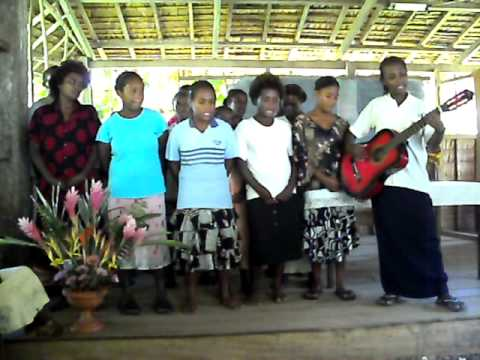 Praising God Heraniau Clinic Solomon Islands