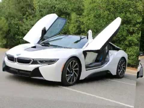 The Bmw I8 White Black Color Review Youtube