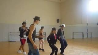 "Ensayo Michael Jackson ""Smooth Criminal"" Domingo Sánchez"
