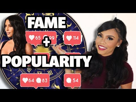 Top 5 FAME & POPULARITY Placements In Astrology | 2019