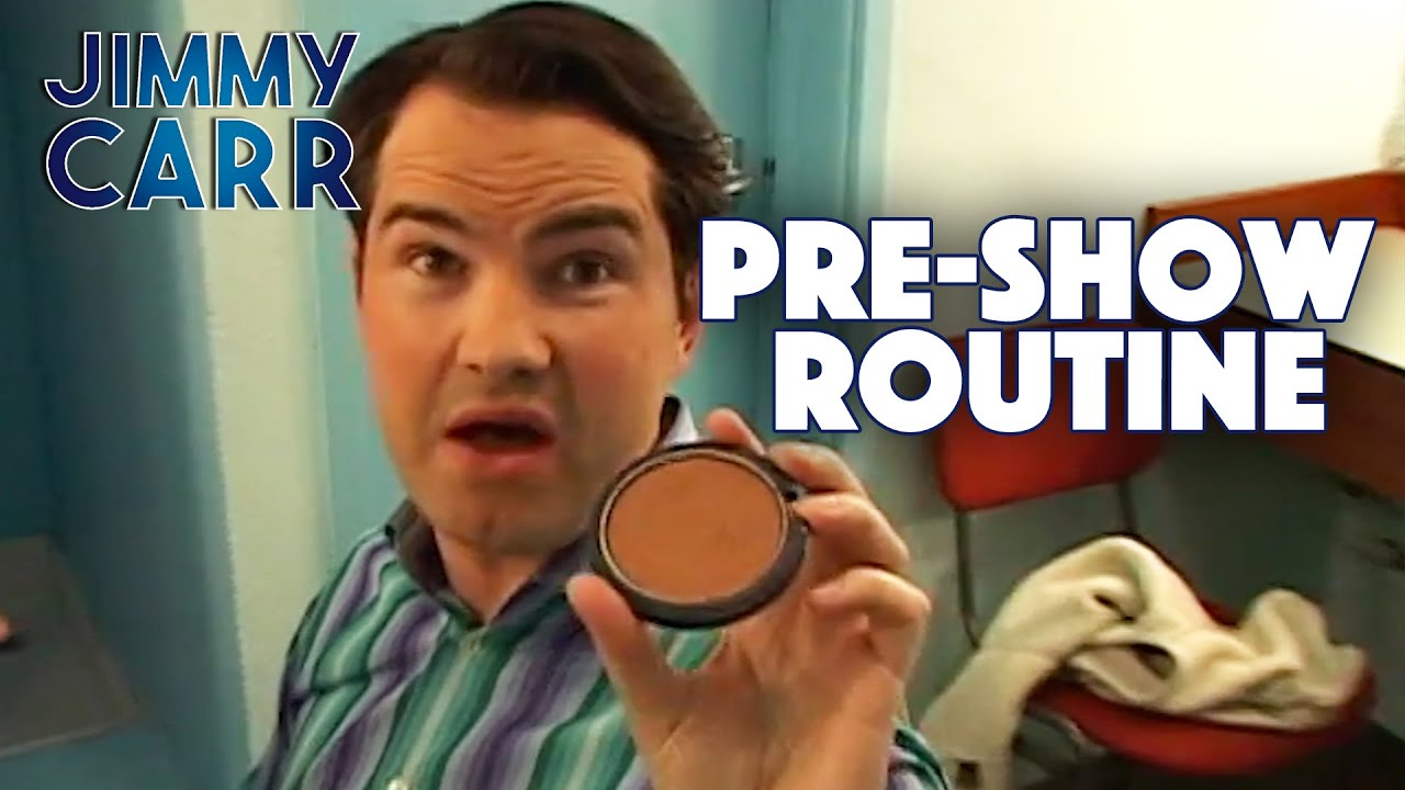 Jimmy's Pre-Show Routine | Jimmy Carr: Live