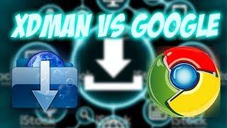 Xtreme Download Manager VS Google Chrome Test