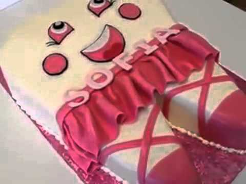 How to make cake Tooth shape cake for Baby Girl YouTube