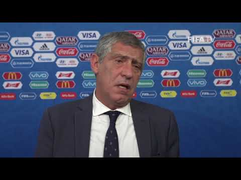 Fernando SANTOS – Portugal - Final Draw Reaction