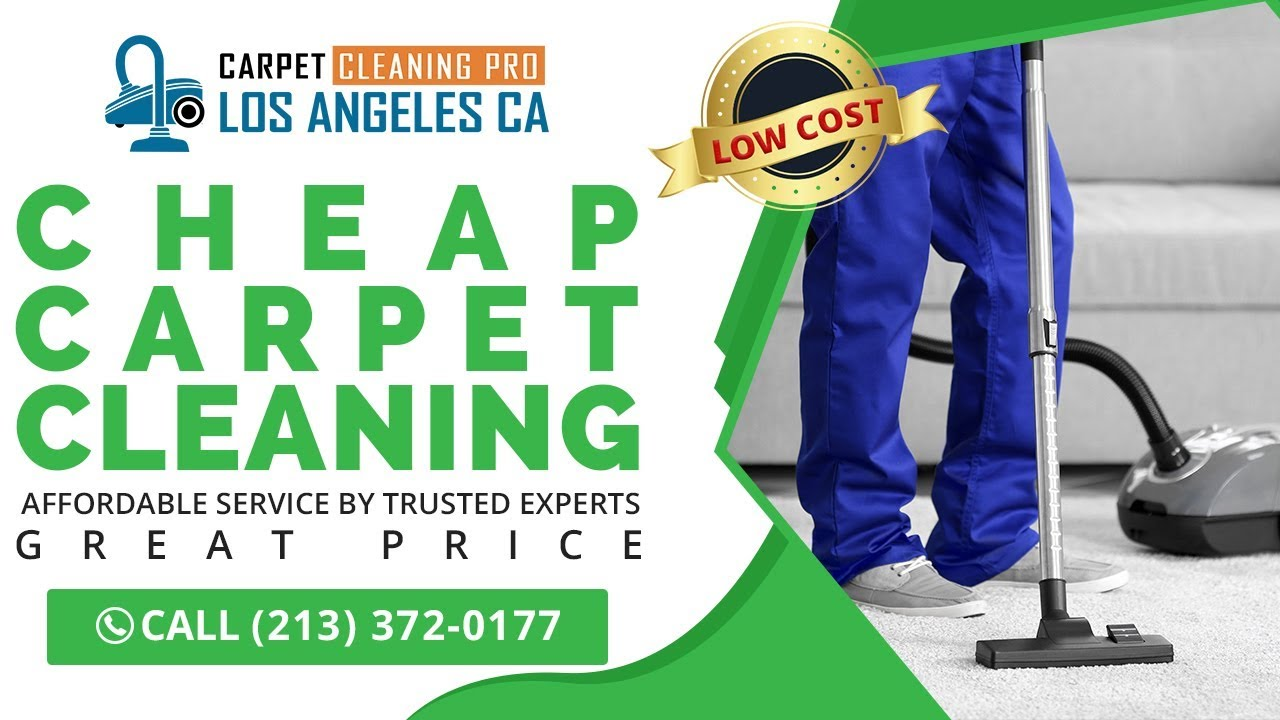 Cheap Carpet Cleaning Torrance CA
