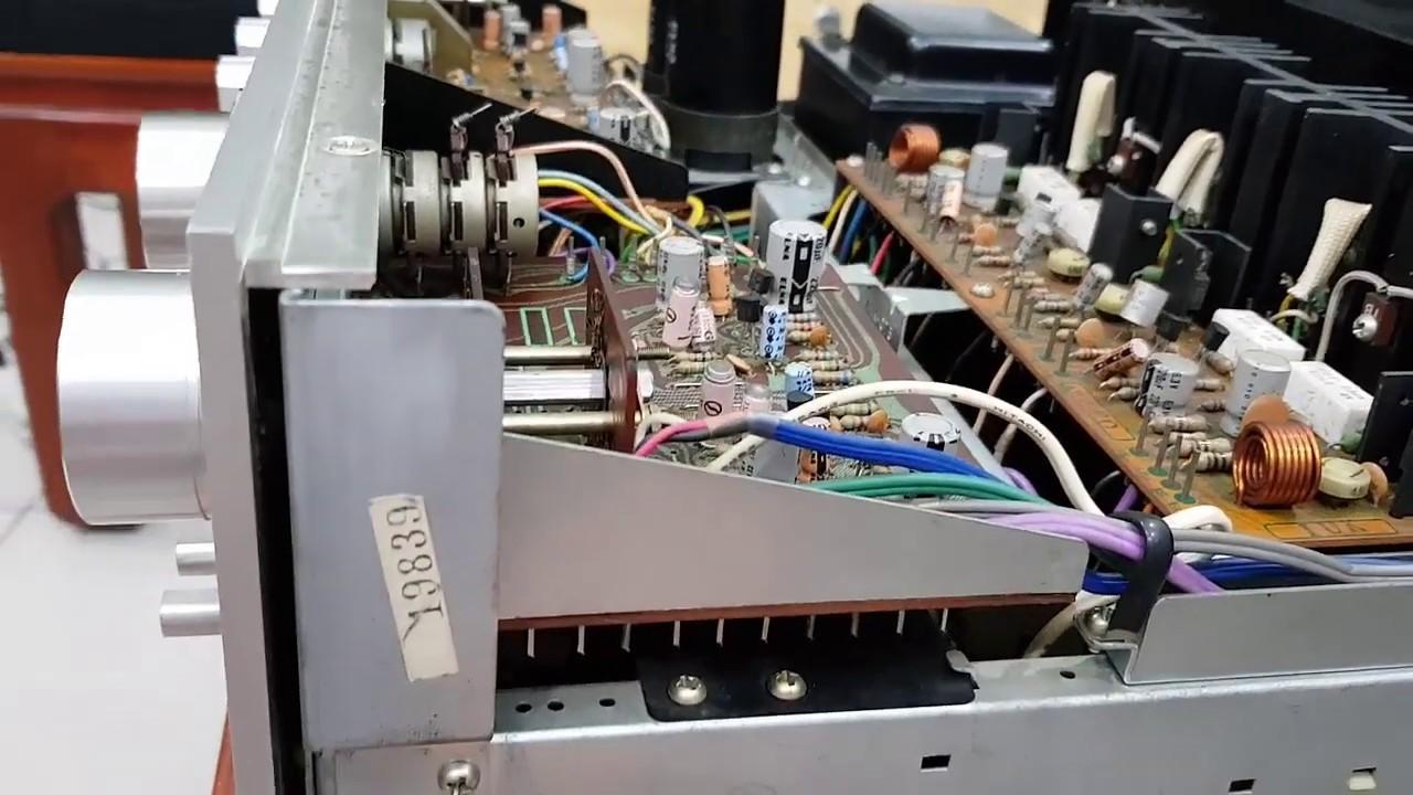 {Đã bán) Amply Pioneer SA 8800