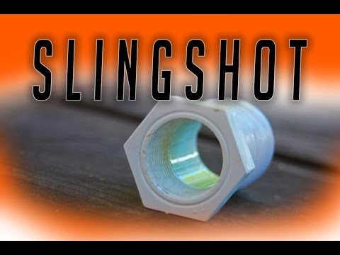 How to make a SLINGSHOT // VERY POWERFUL