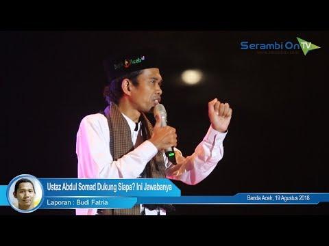 Pemilu 2019, Ustaz Abdul Somad Dukung Siapa? Ini Jawabanya