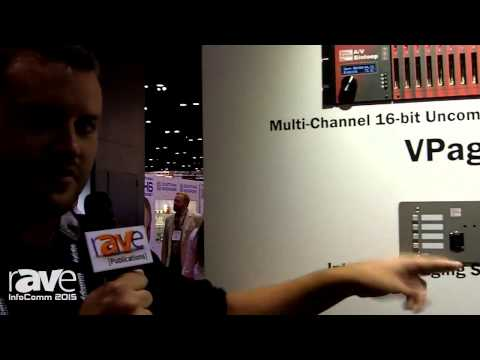 InfoComm 2015: Alcorn McBride Shows off VPage, an Intelligent Paging Station w/ POE