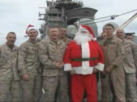 Twas the night Before Christmas...MARINE CORPS STYLE! - YouTube