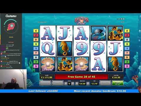 Dolphin`s Pearl - Big Win