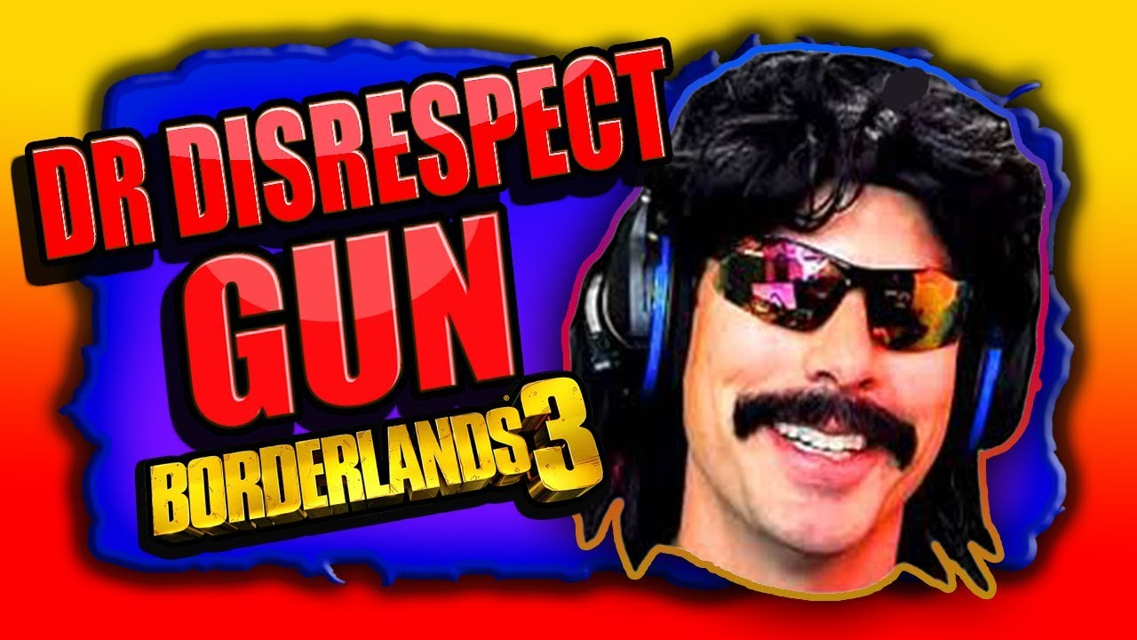 FUNNY! The DR. DISRESPECT G.U.N. Easter Egg - BORDERLANDS 3