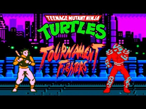 Teenage Mutant Ninja Turtles 4: Tournament Fighters прохождение (NES, Famicom, Dendy)