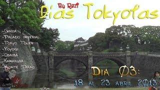 Días Tokyotas (By Razi) 03 - Días en grupo (II) Ginza, Tokyo Tower, Odaiba, Kamakura...
