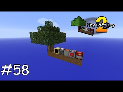 Minecraft Sky Factory 2 - 58 - Resonant Energy in 3 Minuten füllen [deutsch]