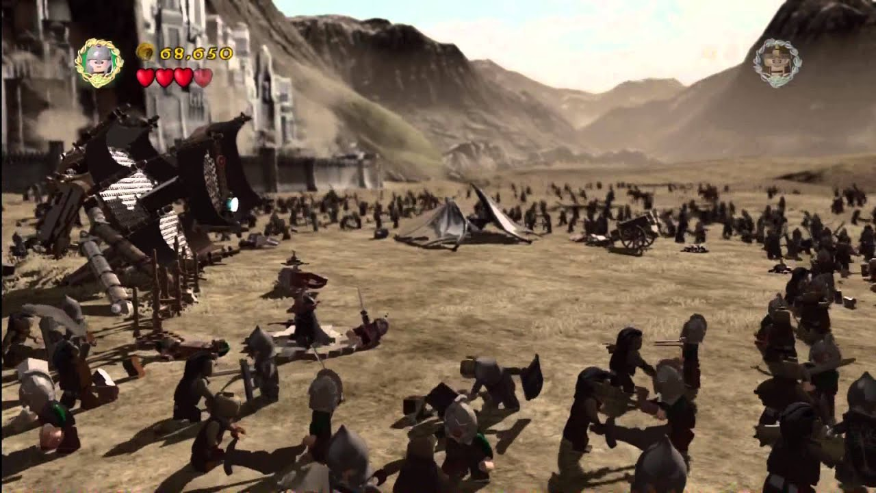 Lego Lord Of The RingsLvl16 Battle Pelennor Fields You And Whos Army Trophy Achievement HTG