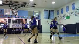 10.15.18 St. John Volleyball vs Hernando Christian   District Qtr. Finals #5