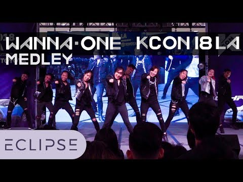 [ECLIPSE] KCON LA COVER STAR K FINALS - Wanna One Medley