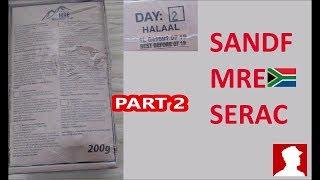 South African Ration Review: SANDF 24H MRE Menu 2 Part 2 of 2