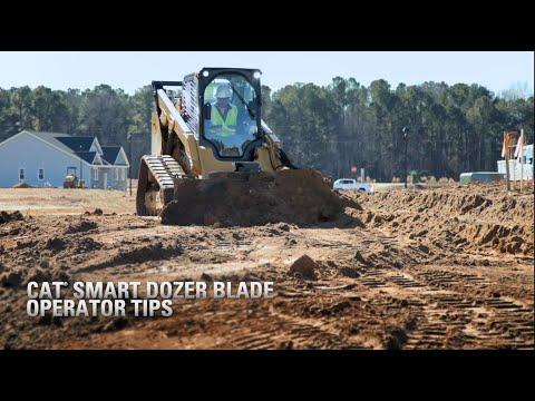 Cat® SMART Dozer Blade Operator Tips