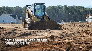 Cat® SMART Dozer Blade Operator Tips