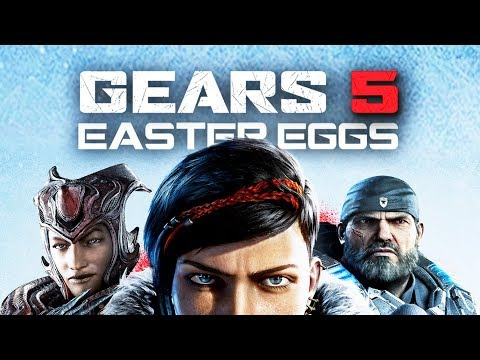 The Best Easter Eggs in GEARS OF WAR 5