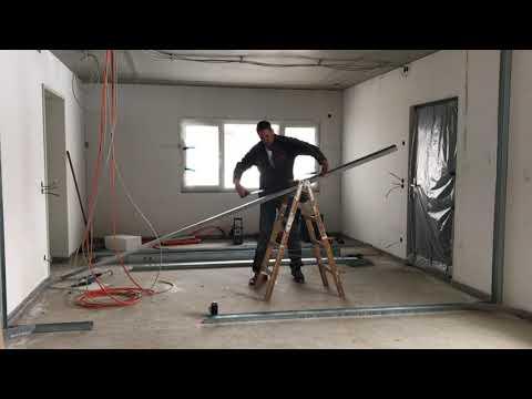 видео: Как самому и правильно сделать перегородку из гипсокартона knauf