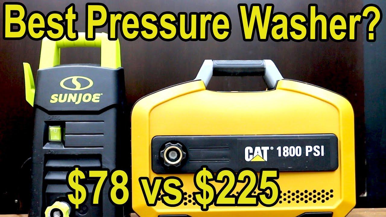 Best Pressure Washer? Let's find out! Ryobi vs Karcher, Stanley, Sun Joe, WEN, CAT & WORX