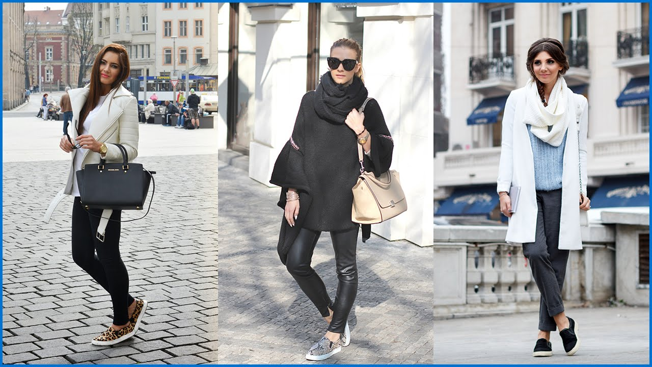 How to Wear Casual Outfits with Slip On