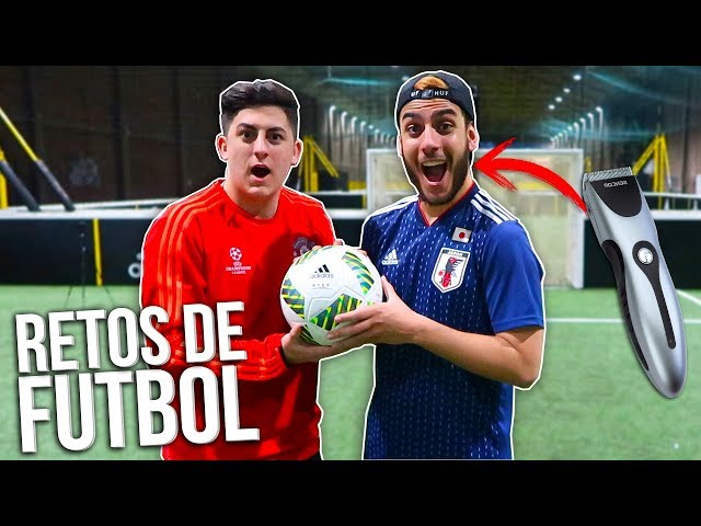 ¡XBUYER vs ROBERTPG! RETOS DE FÚTBOL DEFINITIVOS