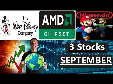 3 Stocks I'm Investing In - September 2017 (SI)