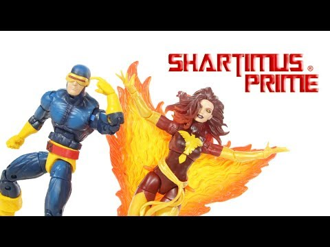 Marvel Legends Dark Phoenix and Cyclops TRU X Men 2-Pack Toys R Us Exclusive Action Figure Review