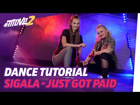 Just Got Paid – Sigala, Ella Eyre, Meghan Trainor | Dance Tutorial | #move2money