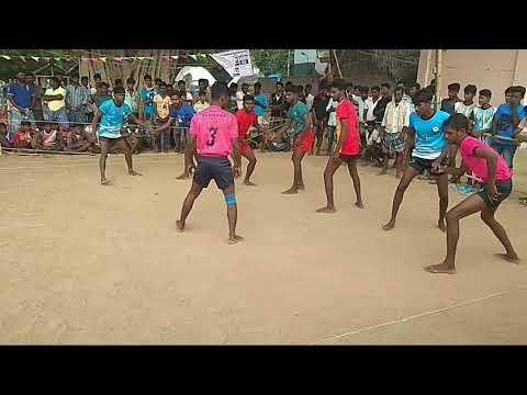 Pudukkottai District UPPUPATTI vs TRICHY best kabaddi match part 1 in UHD