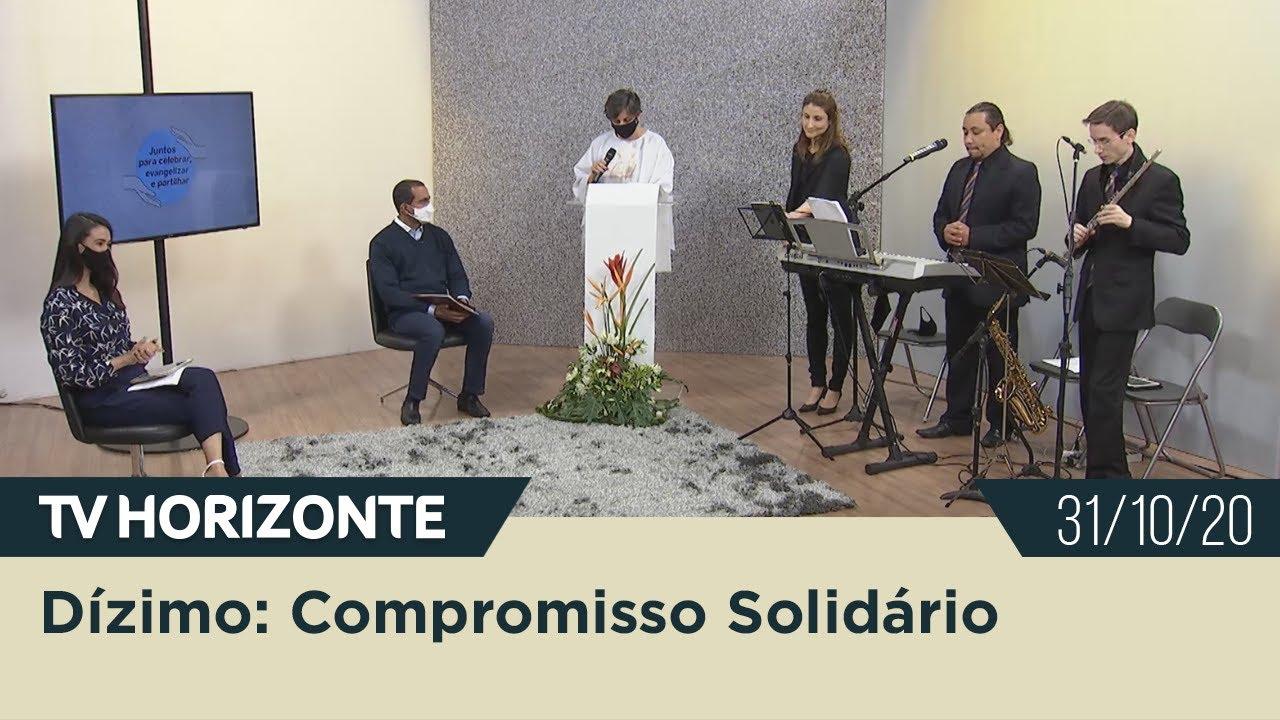 Live | Dízimo: Compromisso Solidário - 31/10/20