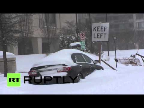 Welcome 'Snowzilla': Heavy snowfall hits Washington DC