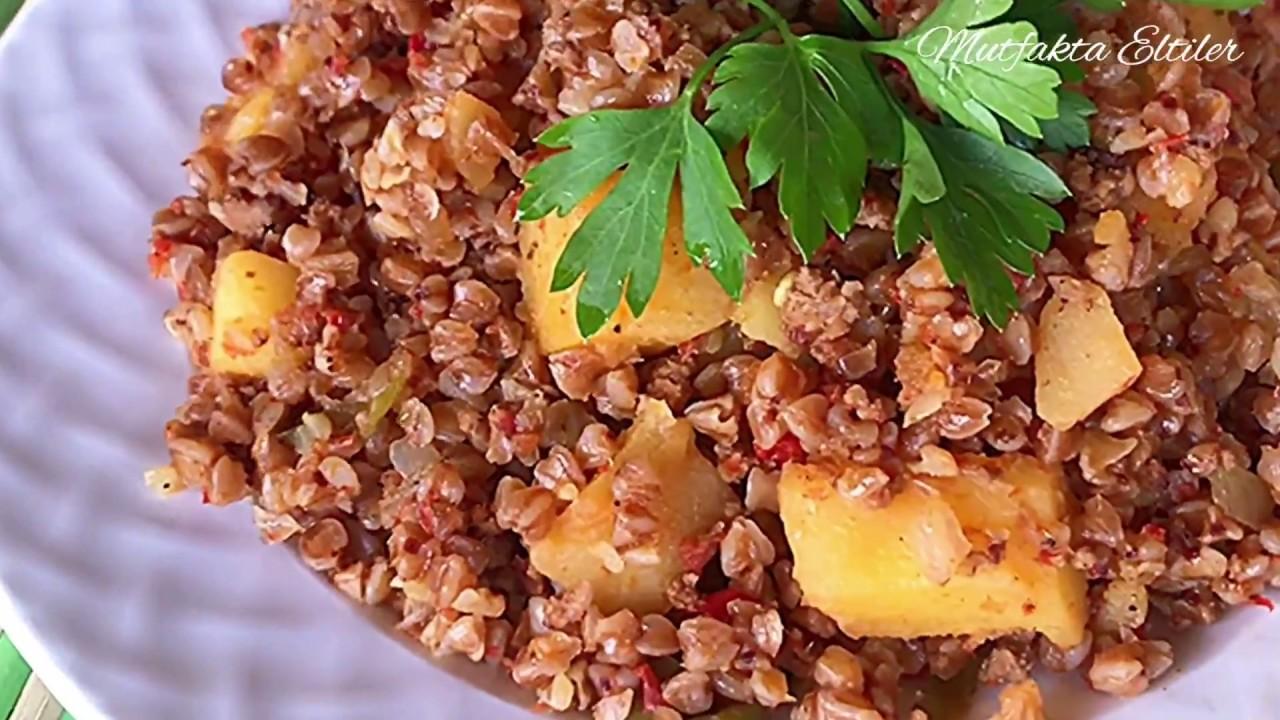 Sebzeli Karabuğday Pilav/Karabuğday Greçka Yemeği Nasıl Yapılır/Karabuğdayı birde bu tarifle deneyin