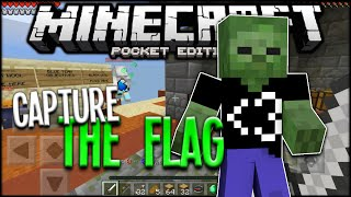 Minecraft PE Capture The Flag - MCPE 0.15.2 Minigame Server (Pocket Edition)
