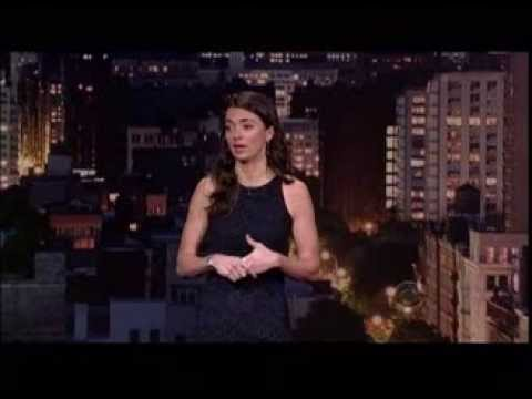Carmen Lynch on The Late Show with David Letterman - YouTube