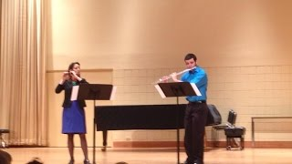 """Fledgling"" duet for flute & piccolo (Original)"