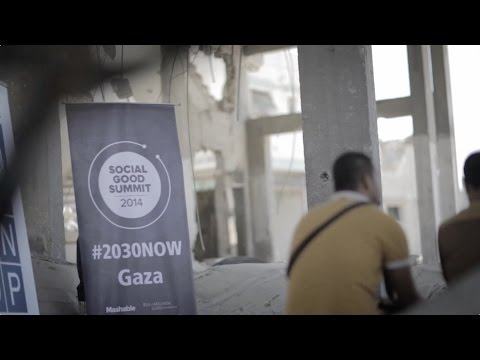 Gaza Meetup - Social Good Summit 2014